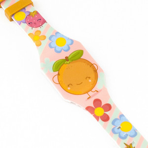 Naranja Reloj Digital Puterful