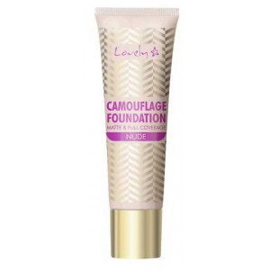 Base de Maquillaje Camouflage Foundation Matte & Full Coverage 2 Nude