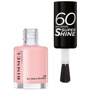 60 SECONDS SUPER SHINE 722 All Nails On Deck