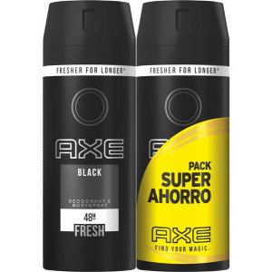 BLACK Desodorante Spray 2 x 150 ml