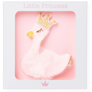 Little Princess Clip Cisne Rosa