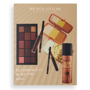 Set Illuminate & Glow Gold