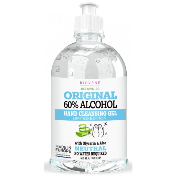 Original 60% Alcohol Gel Higienizante con Aloe Vera 500ml
