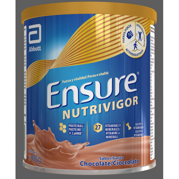 400grs Ensure Nutrivigor Lata Chocolate