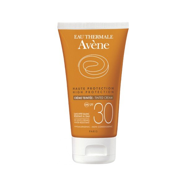 SPF30 Solar Piel Sensible Crema Coloreada