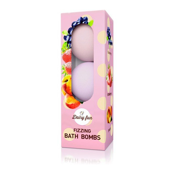 Fizzing Bath Bombs