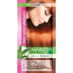 91 Copper Hair Color Shampoo