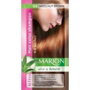 64 Hazelnut Brown Hair Color Shampoo