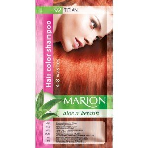 92 Titian Hair Color Shampoo