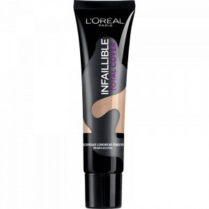 Infalible Total Cover Base de Maquillaje 20