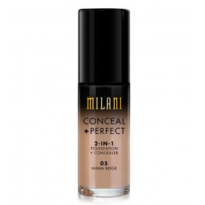 Conceal + Perfect 2 en 1 Base de Maquillaje Warm Beige