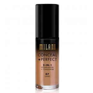07 Sand Conceal + Perfect 2 en 1 Base de Maquillaje Chestnut