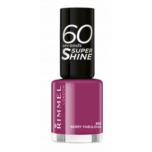 60 SECONDS SUPER SHINE 931 Berry Fabulous