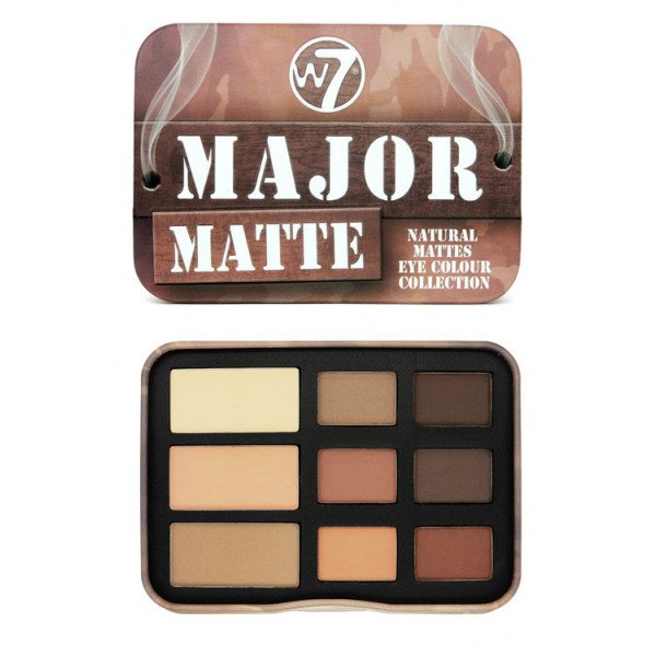Major Matte Paleta de Sombras