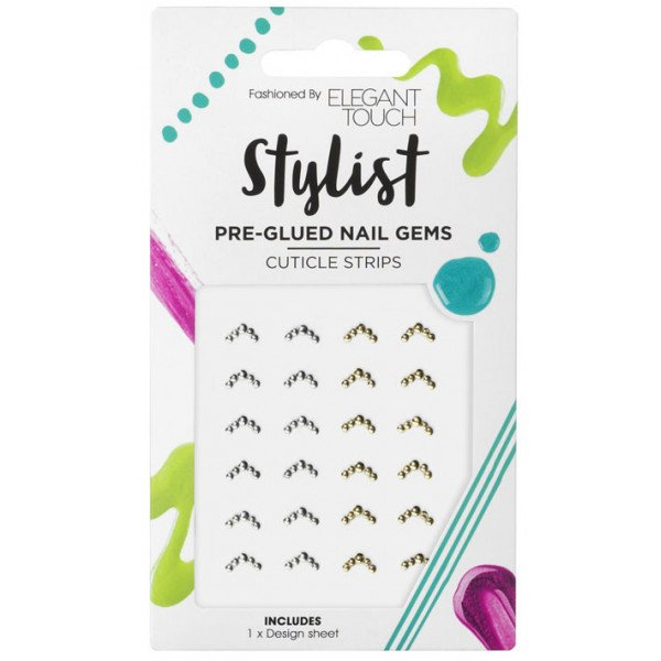 Pre-glued Cuticle Strips Pegatinas para uñas