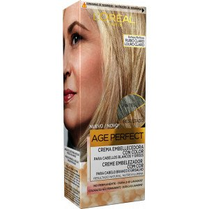 Age Perfect Crema Embellecedora con Color Rubio Claro