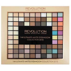 144 Ultimate Matte Eyeshadow Palette Collection 2018