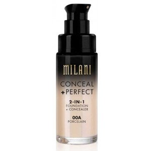 Conceal + Perfect 2 en 1 Base de Maquillaje 00A Porcelain