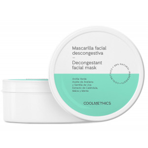 Mascarilla facial descongestiva