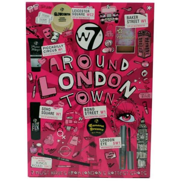 7be8f1bde Around London Town Kit de Maquillaje W7 precio