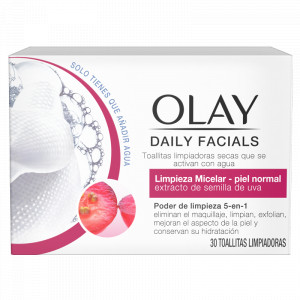 Daily Facials Toallitas Micelares Piel Normal