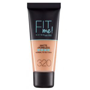 Fit Me Matte + Poreless Base de Maquillaje 320