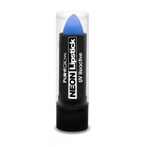 Glow Me Up Neon UV Barra de Labios Intense Blue