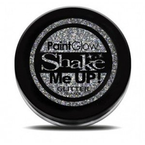 Shake Me Up! Holographic Glitter Silver