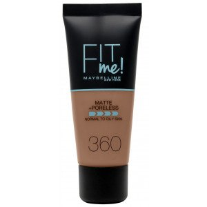 Fit Me Matte + Poreless Base de Maquillaje 360 Mocha