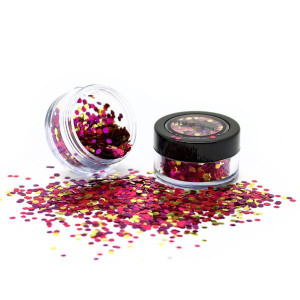 Glitter Facial Biodegradable erizo de mar
