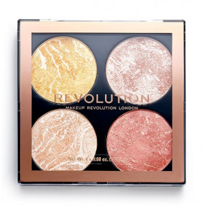 Paleta Cheek Kit de Iluminadores y Bronceadores make it