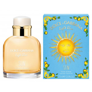 Light Blue Pour Homme Sun Limited Edition