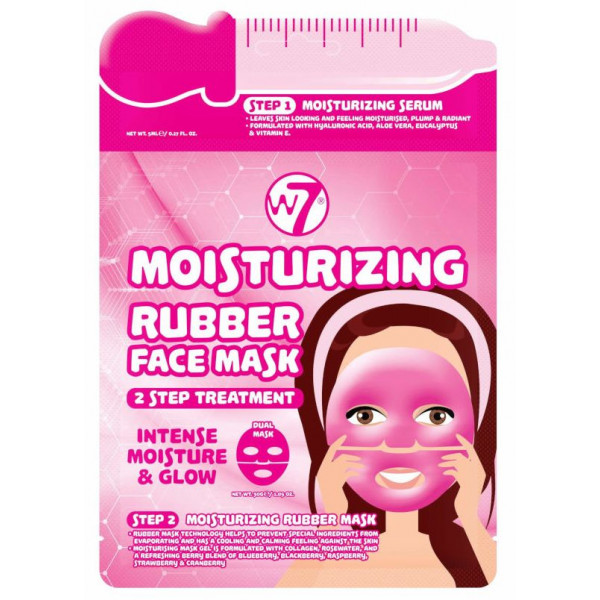 Mascarilla Hidratante Mosturizing 2 Step Treatment Rubber Face Mask
