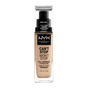 Can't Stop Won't Stop Base de Maquillaje Fluida Warm Vanil