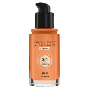 FACE FINITY 3-1 ALL DAY 90 amber