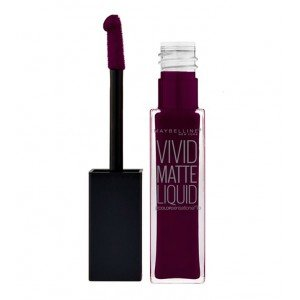 45 Possessed Plum Vivid Matte Liquid Labiales líquidos