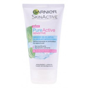 Pure Active Sensitive Gel Limpiador